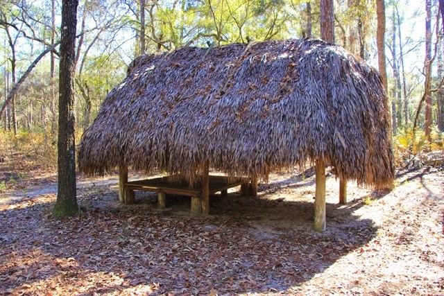 Seminole Hut Manatee Springs