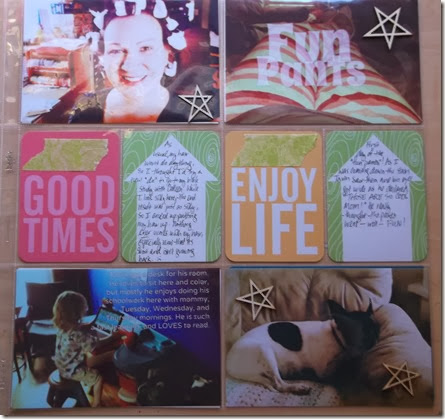 good times project life by Tristine Denise