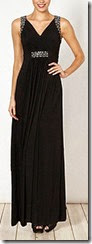 Embellished Jersey Maxi Dress