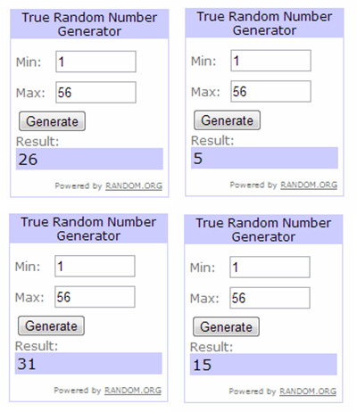 Random Winners