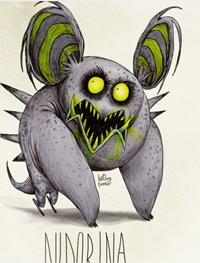 Si los Pokémon los hubiera creado Tim Burton
