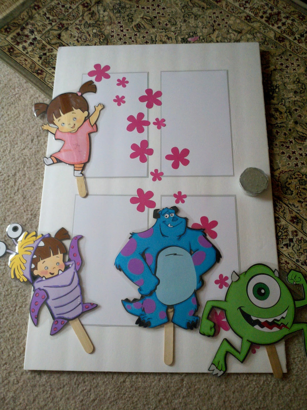 Monsters Inc Door Template - WeSharePics Robert Pattinson