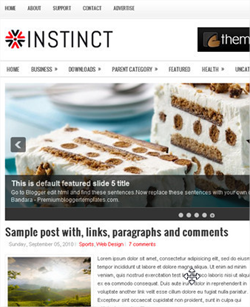 10 nuevas plantillas para Blogger