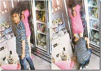 Edisi Sengal! Aksi 'Giler Kentang' Dan Berani Mati Lelaki Skodeng Seluar Dalam Wanita Dirakam CCTV!