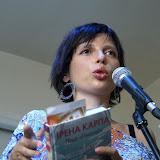 Ірена Карпа презентувала на Форумі Видавців нову книгу «Піца «Гімалаї». Фото