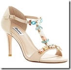 Dune Jewelled T-Bar Sandals