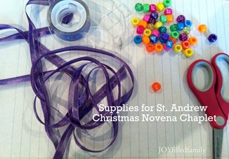 supplies - chaplet