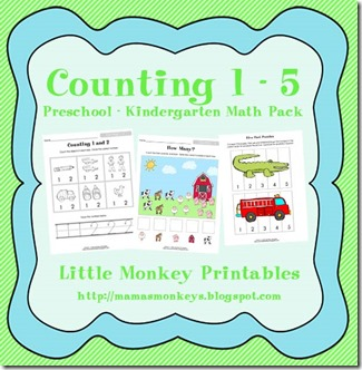 counting 1 - 5 ad