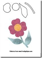 plantillas flores fieltro