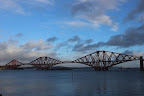 The Forth Railway Bridge from afar