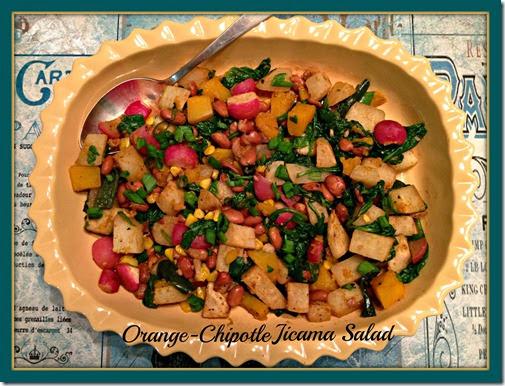 orange chip jicama salad