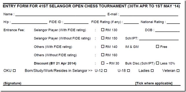 41st Selangor Open 2014 - flyer part 3