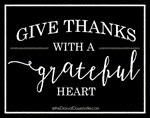 Eighteen 25 - Give Thanks