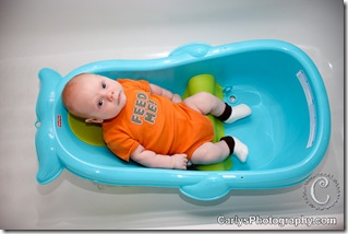 August 05, 2011-Kyton 2 month - pic a day