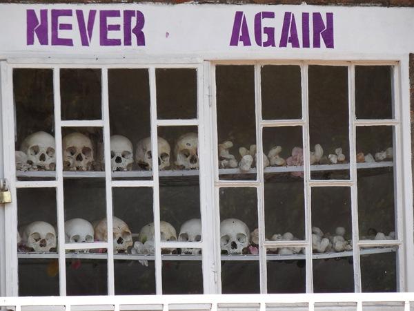 Never again Rwanda
