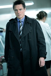 "John Barrowman is Captain Jack Harkness in Torchwood: Miracle Day - ""The New World"""