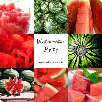 Watermelon Party Invito