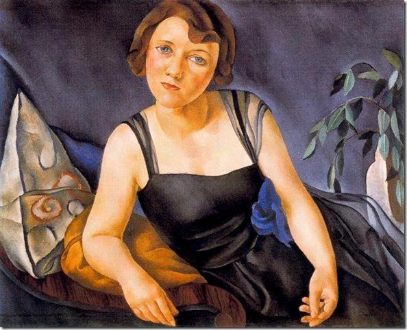 Josep de Togores i Llach - Retrato de la señora Kahnweiler -1921