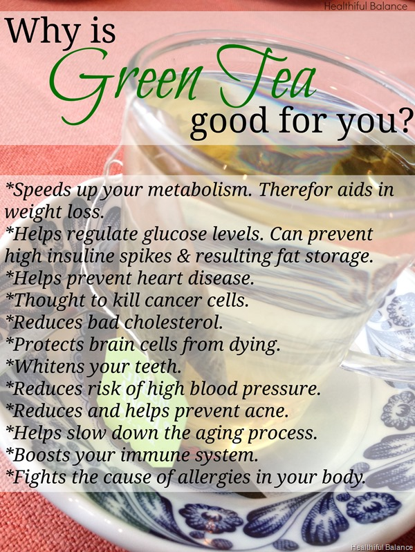 Why Is Green Tea Healthy For You by Healthiful Balance1