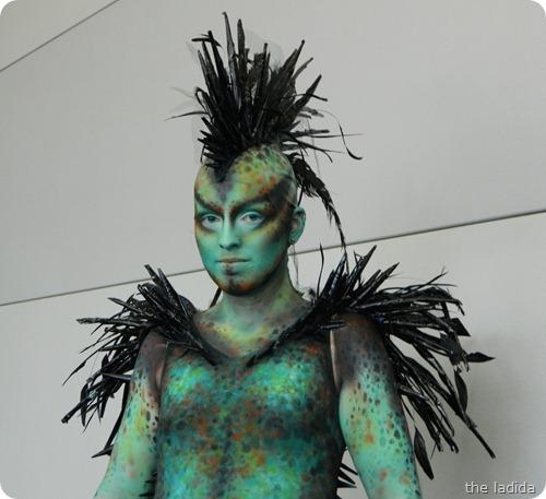 IMATS Sydney 2012 - Beauty Fantasty - Wild Kingdom - Victoria Leonard (2)