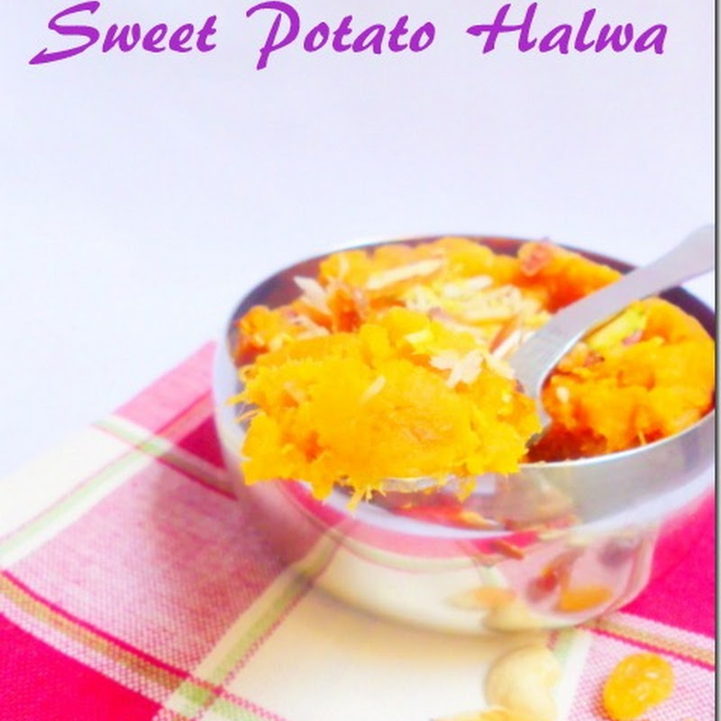 Sweet Potato Halwa | Shakarkhand Halwa Recipe