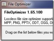 File Optimizer: ridurre la dimensione dei file senza perdita di qualità