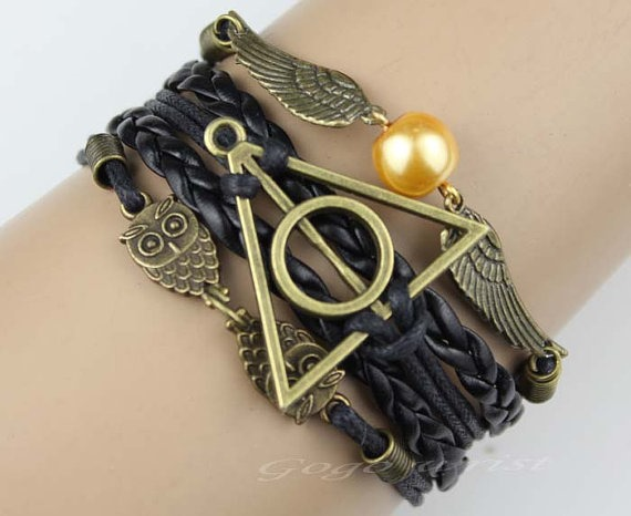 Harry Potter Bracelet from gogowrist via Etsy