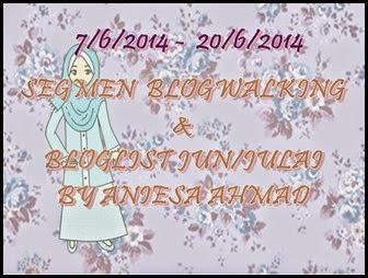 Segmen Blogwalking & Bloglist by Aniesa Ahmad
