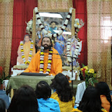 Sunday satsang with Swami Mukundananda in Dallas