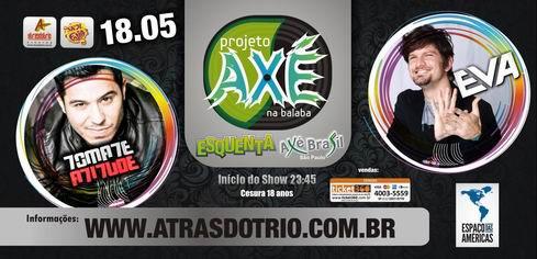Projeto Axé Brasil -Espaço das Américas
