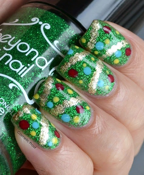 Christmas Tree Nails (2)