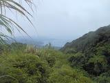 View down to Tahuna Bay from halfway up Gunung Awu (Dan Quinn, February 2013)