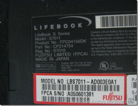 บันทึกอาการเสีย Fujitsu Lifebook S-Series