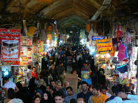 Things to see in Teheran: The great bazaar