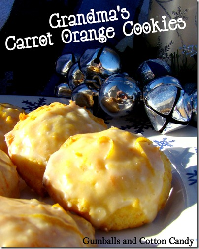 "alt=""Carrot orange cookies"""