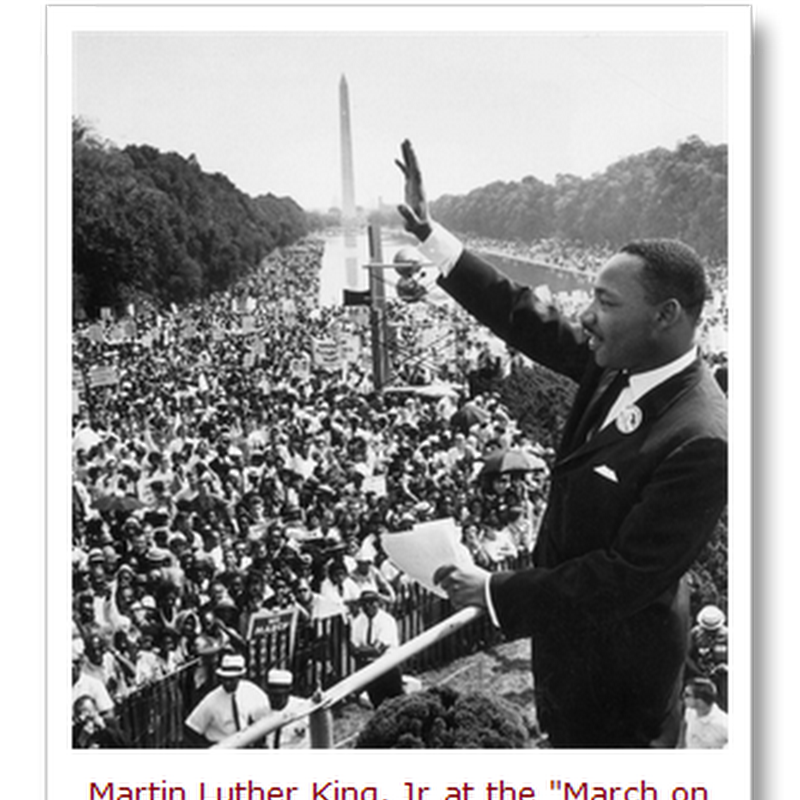 """The MLK speech that almost wasn't the """"I Have a Dream"""" Speech – and the one that might have been…"""