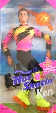 Hot Skatin Ken In line and Ice Skating (1994)