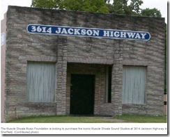 Foundation purchases original Muscle Shoals Sound Studios, which recorded Rollin_2013-06-22_19-15-01