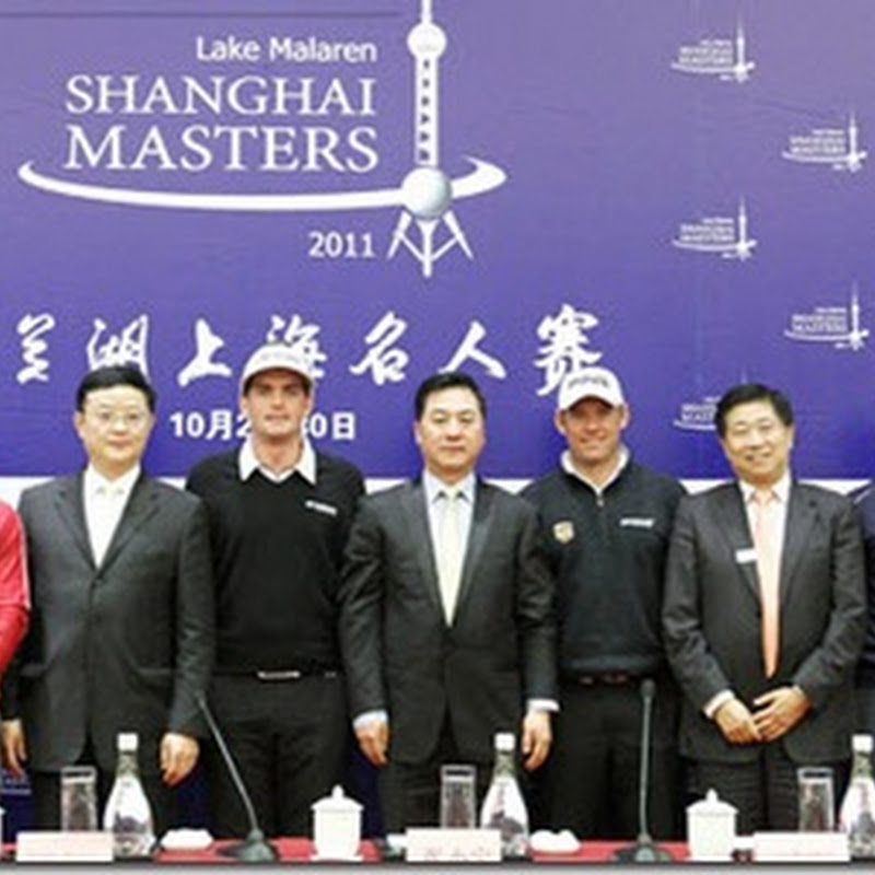 2011 Shanghai Masters Scores Coup By Pairing Westwood and McIlroy