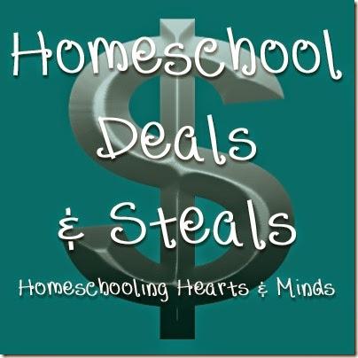 Homeschool Deals & Steals beginning May 1 at Homeschooling Hearts & Minds
