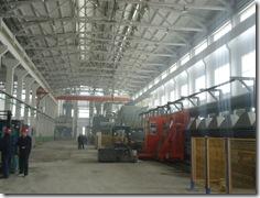 輝県 新工場ライン