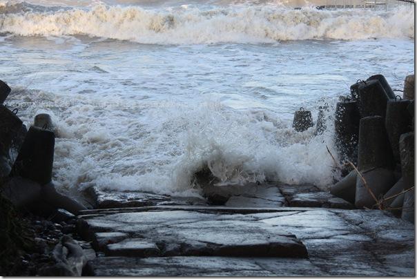 Styczniowe morze i bułeczki z zurawiną i marcepanem (11)