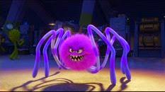 60 araignée violet foncé