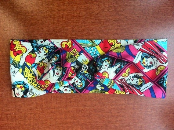 Wonder Woman Hair Scarf from Couture By May