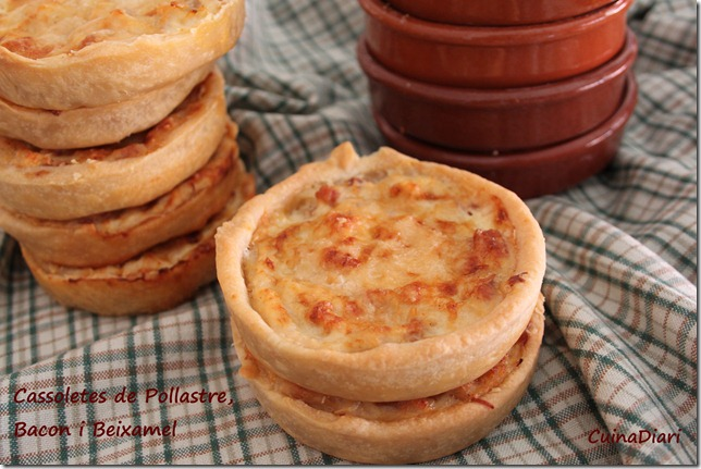 5-cassoletes pollastre bacon beixamel-ppal