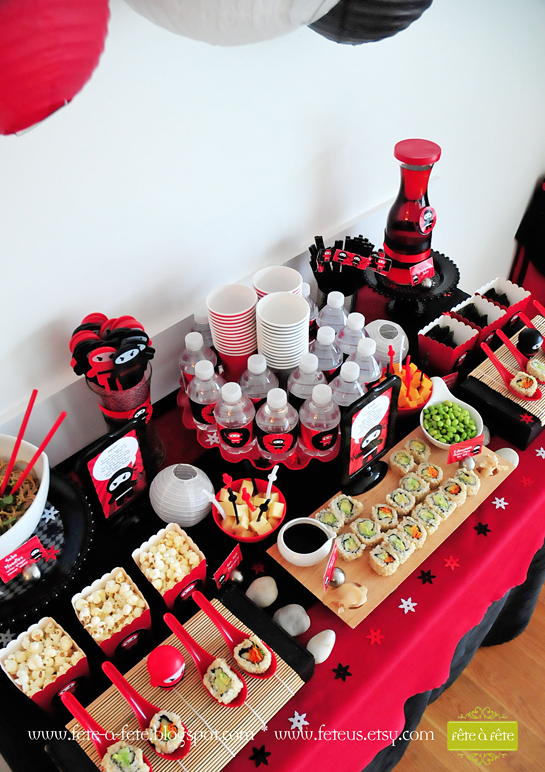 sushi-table---Ninja-Party-by-Fete-12
