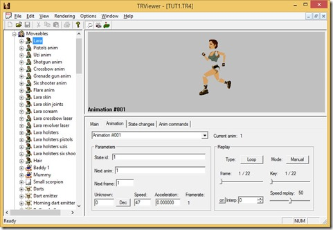 TRViewer screenshot