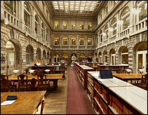 Bibliothèque Sansovino, Venise , Italie-3