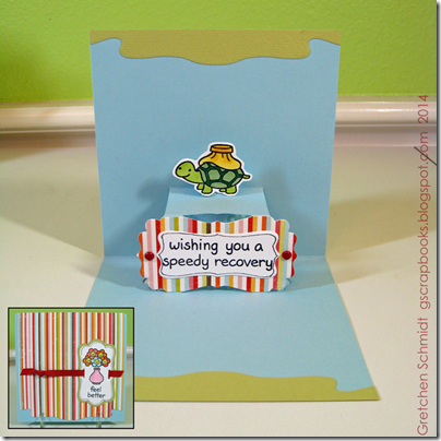 Feel Better card by @gscrapbooks