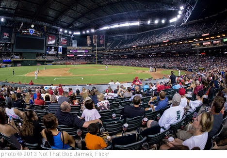 'Dbacks vs. Mets at Chase Field' photo (c) 2013, Not That Bob James - license: https://creativecommons.org/licenses/by-nd/2.0/